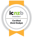 ICNZB Gold Badge
