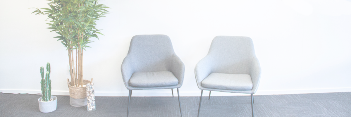 Chairs at front of office