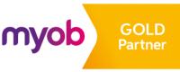MYOB Gold Partner badge